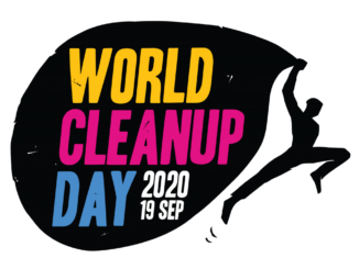 logo world cleanup day 2020